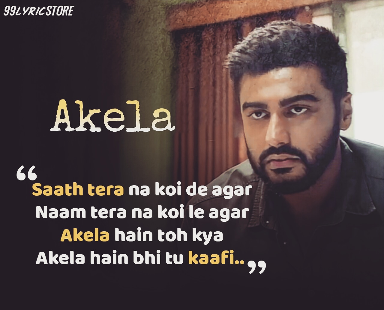 Akela Hindi Song Lyrics sung by Abhijeet Srivastava from movie India's Most Wanted
