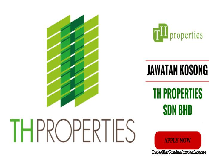 Iklan Jawatan Kosong TH Properties (14-24 Disember 2017)