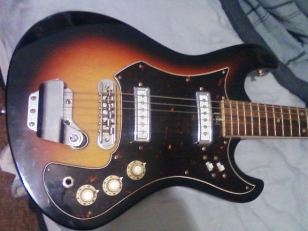 Craigslist Vintage Guitar Hunt Silvertone Mij Electric In