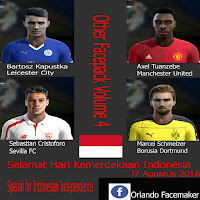 Pes 2013 Other Facepack Vol5 By Orlando Face Maker