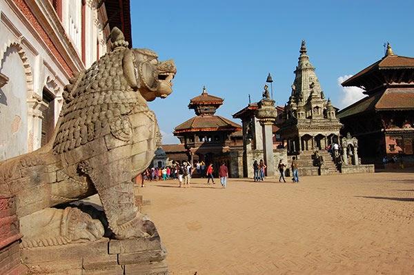 Durbar Square en Bhaktapur