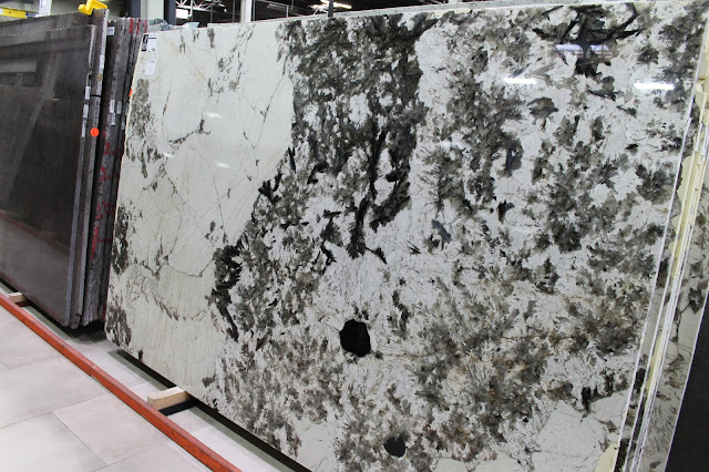 Alpine White Granite slabs for countertops