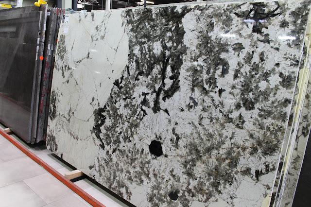 Alpine White Granite slabs for countertops