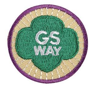 Official Girl Scout Membership Pin