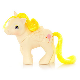 MLP Baby Lofty Year Four Beddy Bye Eye Ponies G1 Pony