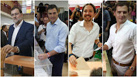 Mariano Rajoy, Pedro Sánchez, Pablo Iglesias, Albert Rivera, España, elecciones, gobierno