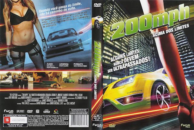 Capa DVD 200mph