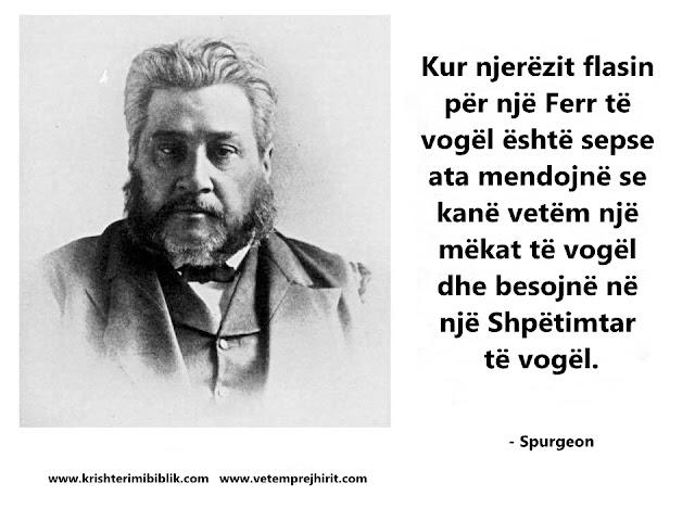 Ferri, Shpetimtar, Spurgeon shqip