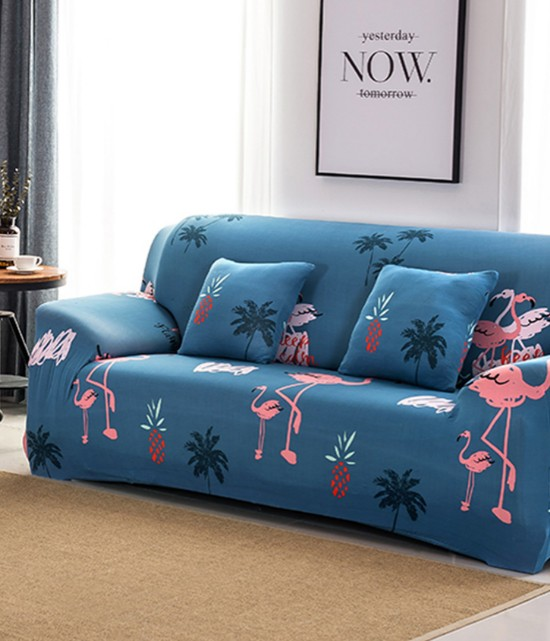 Pink Flamingo Sofa Slip Cover