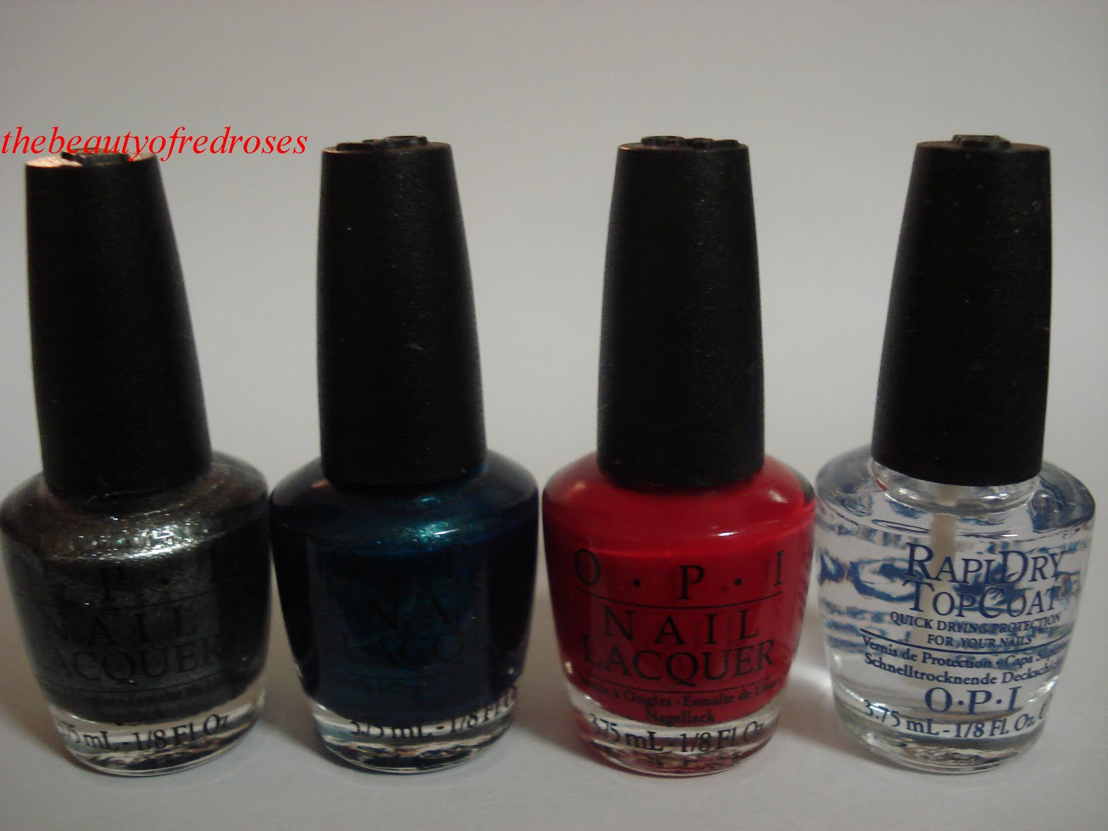 The Beauty Of Red Roses Review Opi Irre Swiss Ables