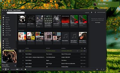 Spotify voor GNU/Linux