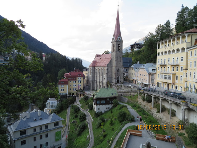 Bad Gasteinin kylä