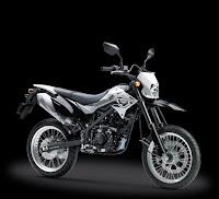 Kredit Motor Kawasaki D-Tracker 150 White