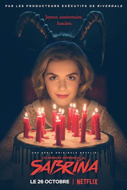 Série TV Les Nouvelles Aventures de Sabrina L'Agenda Mensuel - Octobre 2018