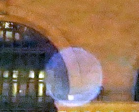 transparent orb