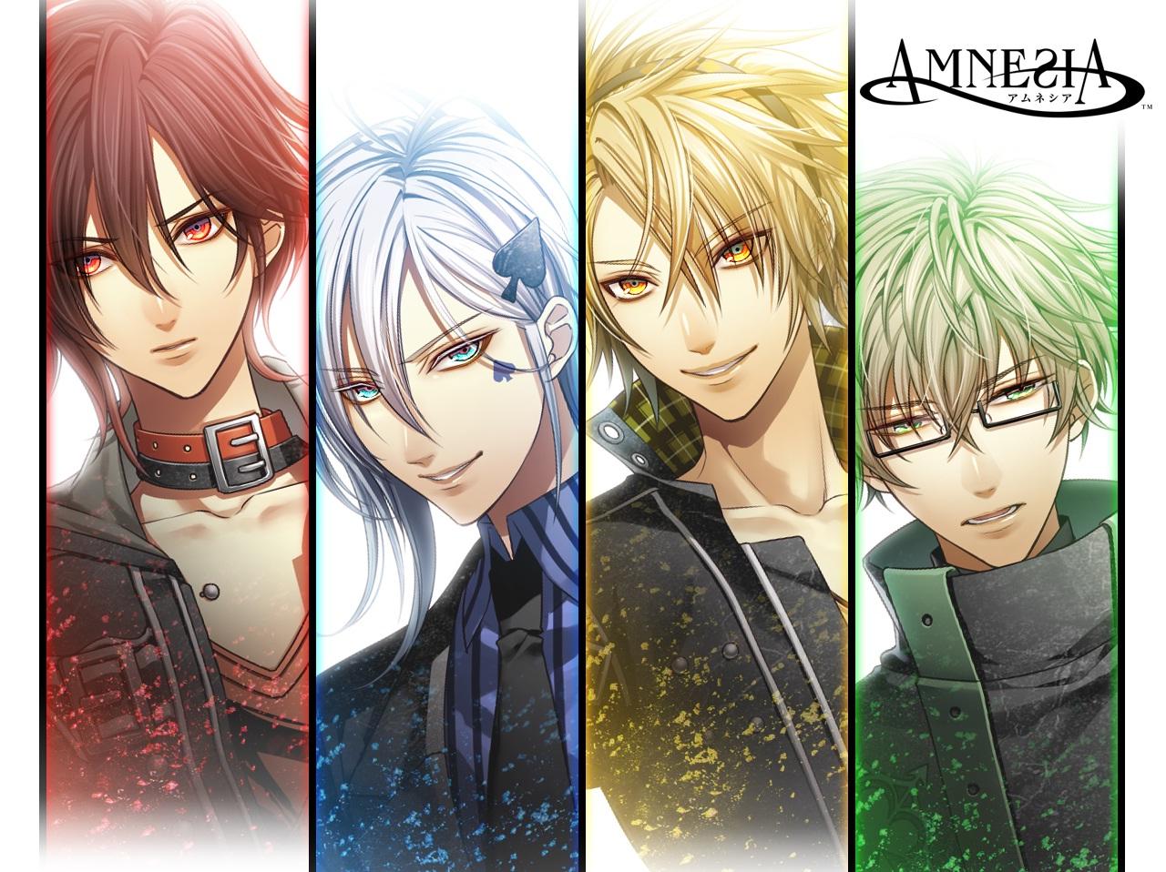 4 routes của Amnesia: Shin/Ikki/Toma/Kent