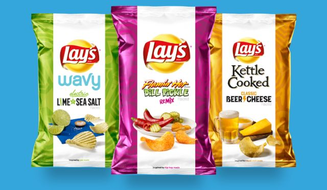 Lay's Comes Up with Three New Music-Inspired Potato Chip Flavors