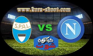 مشاهدة مباراة نابولي وسبال بث مباشر 12-05-2019 الدوري الايطالي
