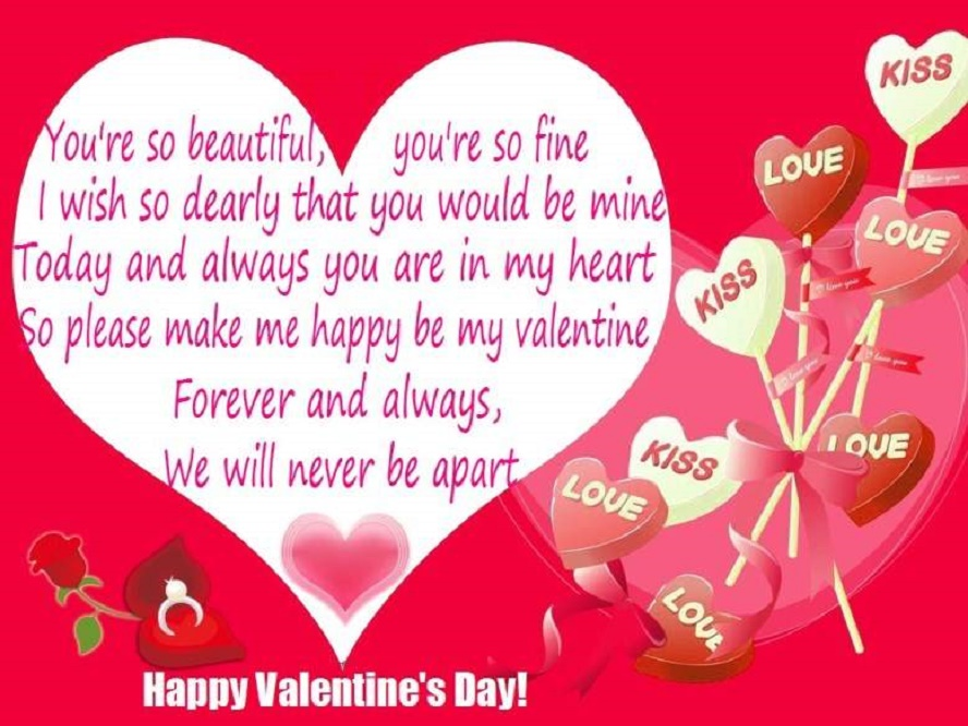 Best Valentines Day Quotes 2018 HD Wallpapers Images Cards – Valentine Day Cards for Girlfriend