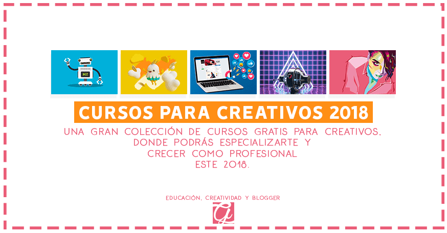 los mejores cursos gratis para creativos 2018 por la plataforma crehana