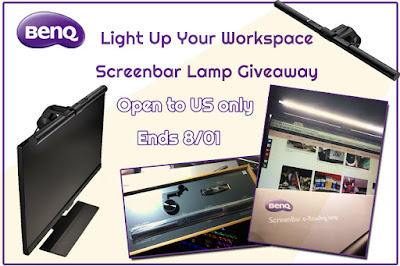 Enter the Light Up Your Workspace with a Screenbar Lamp Giveaway. Ends 8/1