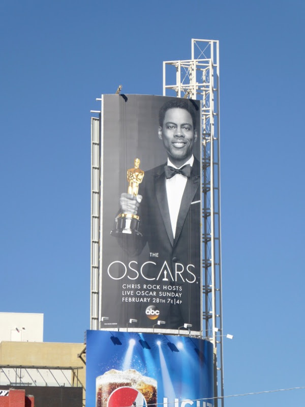 Chris Rock 88th Oscars billboard