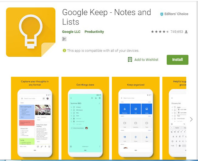 Best Note taking app for Android
