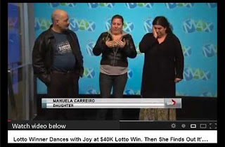 Woman Wins $40M, Not $40K in Lottery