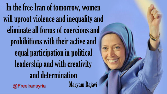 MARYAM RAJAVI'S MESSAGE ON INTERNATIONAL DAY FOR THE ELIMINATION OF VIOLENCE AGAINST WOMEN