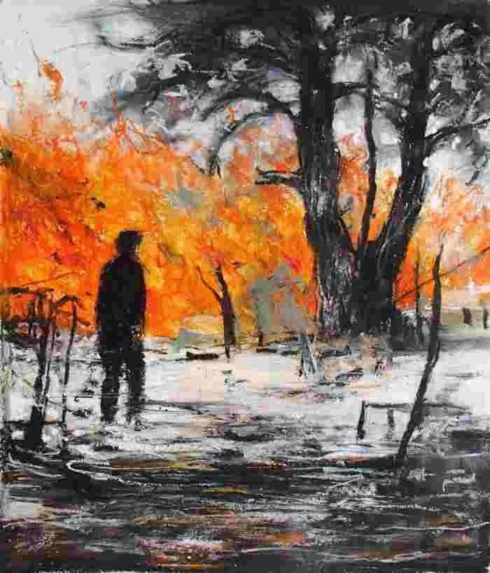 Французский художник. Wilfrid Moizan