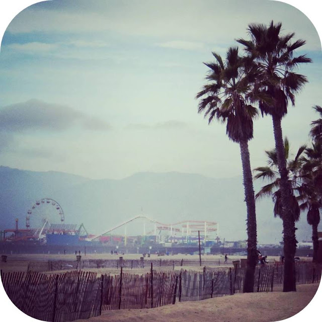 From Venice Beach to Santa Monica: Santa Monica Pier
