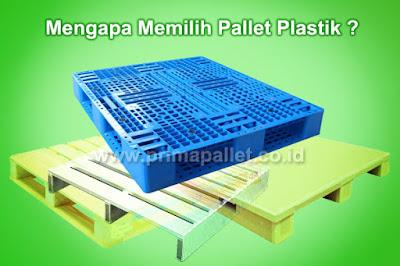 4 Alasan Utama Mengapa Menggunakan Pallet Plastik