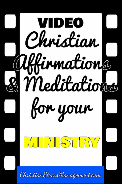 Christian affirmations and meditations for your ministry video
