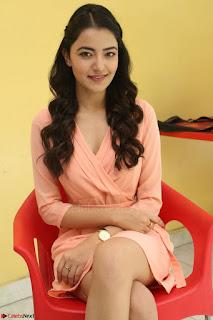 Rukshar Mir in a Peachy Deep Neck Short Dress 061.JPG