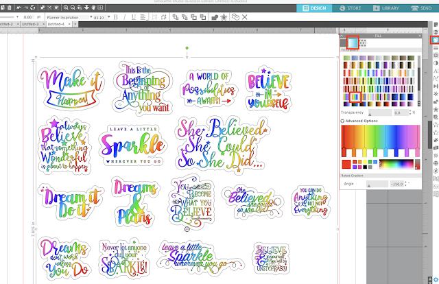 silhouette sticker, silhouette stickers, Planner stickers, printable planner stickers, dingbat font