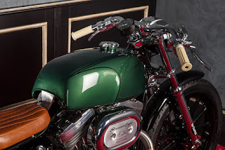 marley sportster with rear long fender by mr martini gas tank