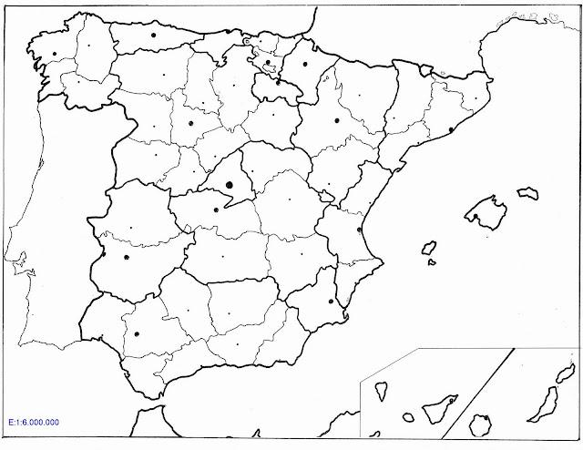 PRIMERA ETAPA: Espanya política: comunitats i províncies