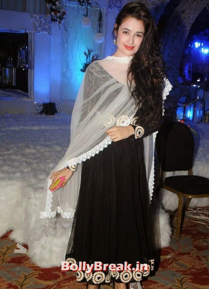 Yuvika Chaudhary, Manali Jagtap, Vicky Soor Engagement Ceremony Pics