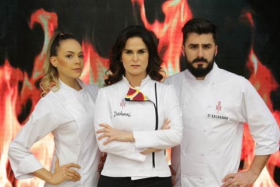 """Hell's Kitchen – Cozinha Sob Pressão"""" estreia 4ª temporada com nova chef Danielle Dahoui, no SBT"""