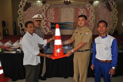 SMKN 2 Palembang Jadi Sekolah Binaan Safety Riding Honda