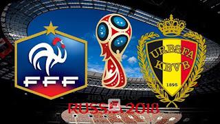 Fransa - Belçika Canli Maç İzle 10 Temmuz 2018