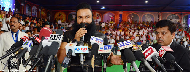 Tiranga Rumal Chhu League Press conference Saint Dr. Gurmeet Ram Rahim Singh Ji Insan in RTL