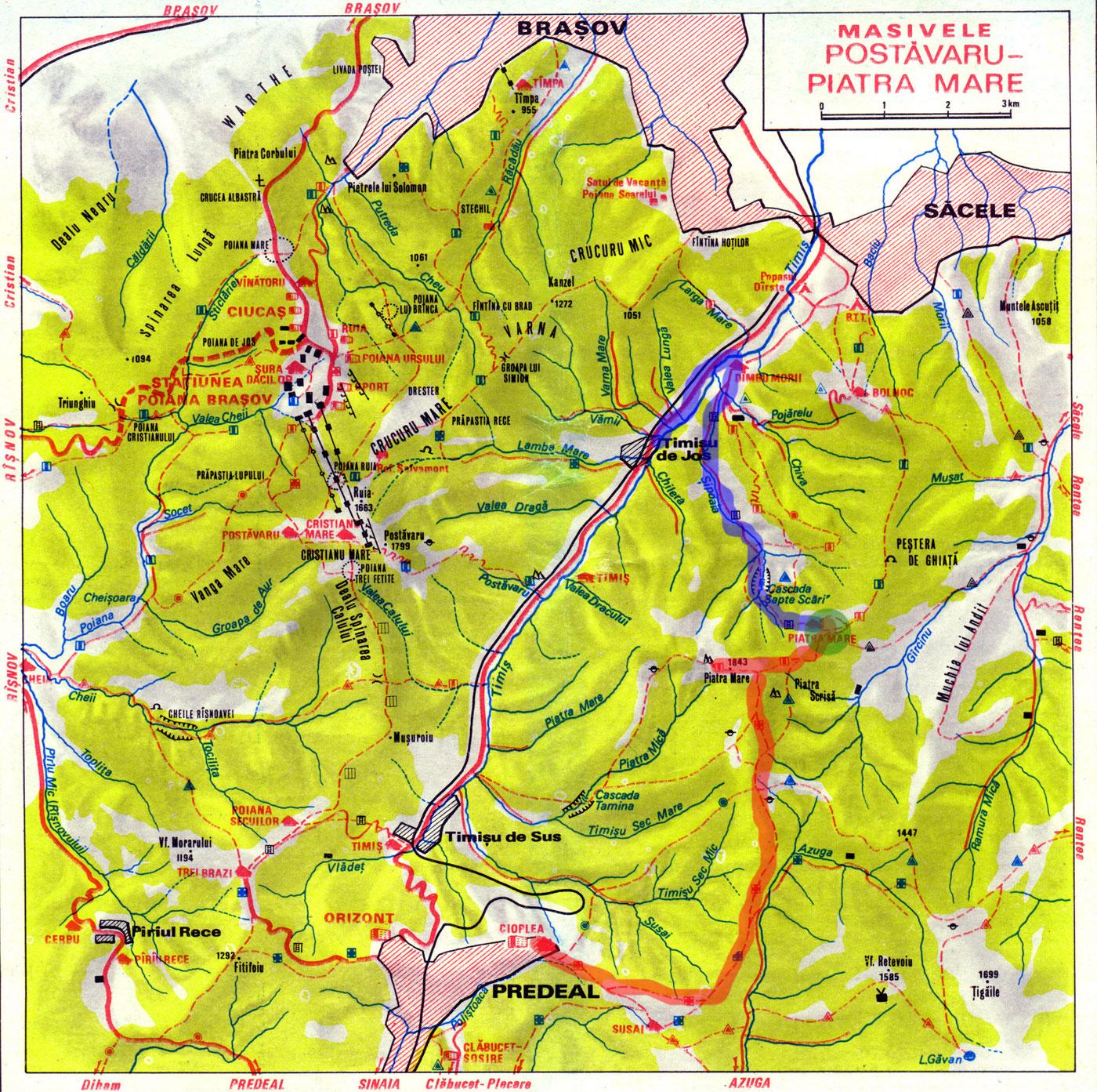 Traseu turistic galati trans alpina webcam