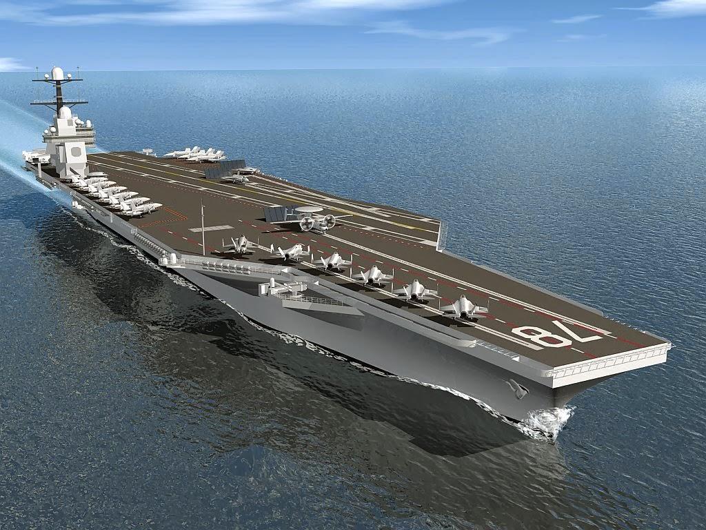Florida Cruise Traveler - Navy: Gerald R. Ford CVN-78 ...