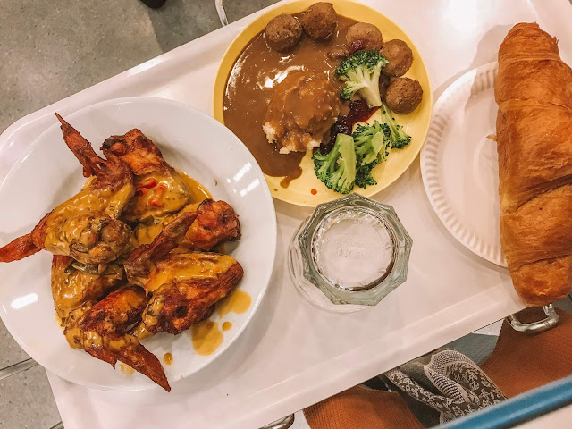Review Salted Egg Wings di Restoren IKEA Cheras