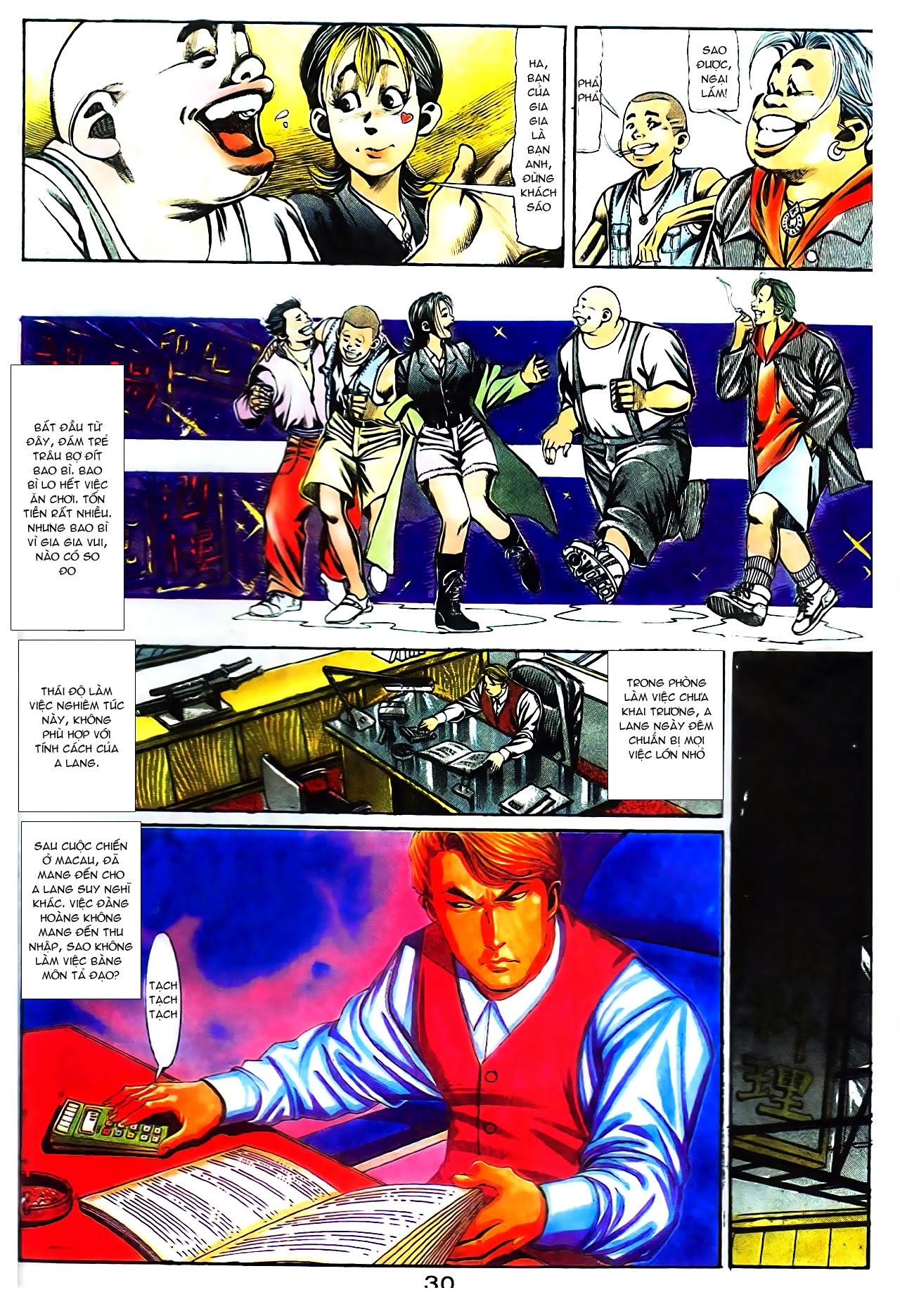 Người Trong Giang Hồ chapter 104: tuổi trẻ máu lửa trang 10