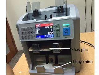 Máy đếm tiền Silicon MC 8PLUS chính hãng giá tốt