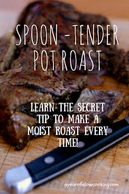 ACK! I have been making my pot roasts *wrong* all these years! I never knew how simple it could be to actually make a super tender pot roast without spending a ton of money on expensive meat!