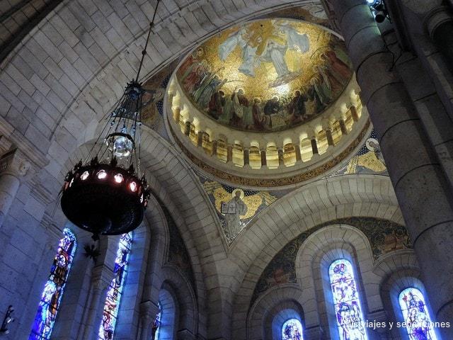 Basílica Sacré Coeur, Barrio de Montmartre, París