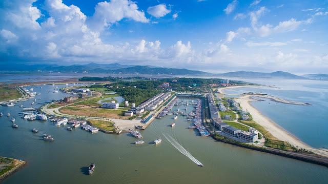 Đảo Tuần Châu với thương cảng quốc tế tại Hạ Long